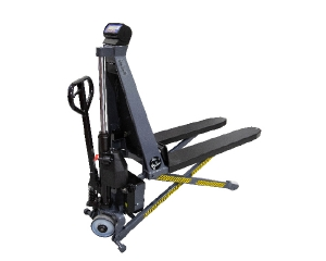 Griptech High lifter with weighing system Griptech scales